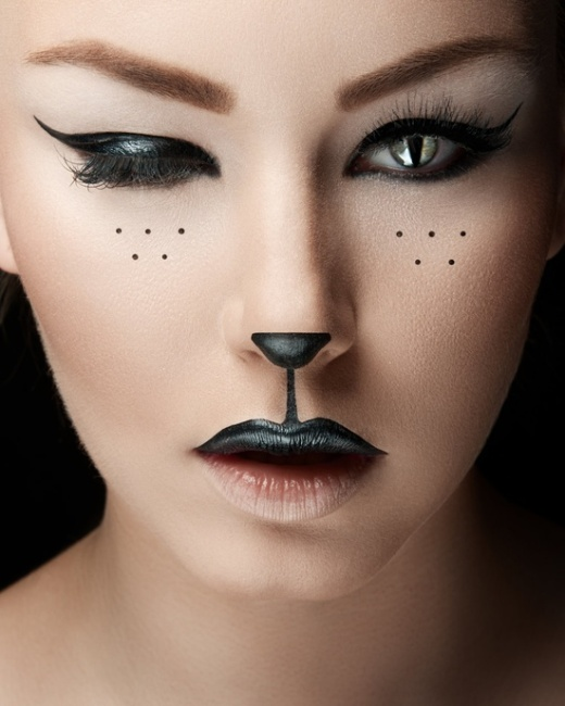 cat-halloween-makeup